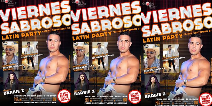 Viernes Sabroso Latin Dance Party em San Diego le sex, 27 setembro 2019 21:00-01:30 (Clubbing Gay)