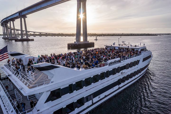 Happiness Tea Dance & Escapade Sunset Cruise San Diego Pride à San Diego le sam. 13 juillet 2019 de 16h00 à 22h00 (Croisière Gay)