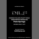 DILF Palm Springs Black Party 2019 by Joe Whitaker Presents in Cathedral City le Sat, April 27, 2019 from 08:00 pm to 02:00 am (Clubbing Gay)