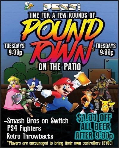 PoundTown @PECS in San Diego le Di  1. Oktober, 2019 21.00 bis 01.00 (Clubbing Gay)