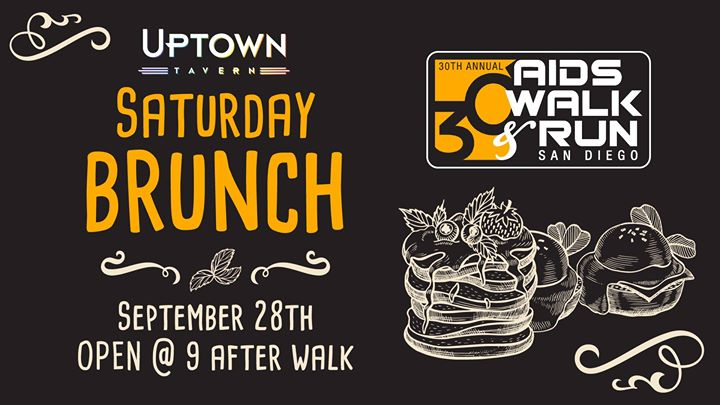 AIDS Walk & Run San Diego After-Party Brunch! à San Diego le sam. 28 septembre 2019 de 09h00 à 14h00 (Brunch Gay)