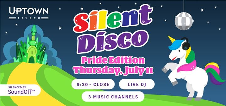 Silent Disco Dance Party - The PRIDE Edition! a San Diego le gio 11 luglio 2019 21:30-01:00 (After-work Gay)