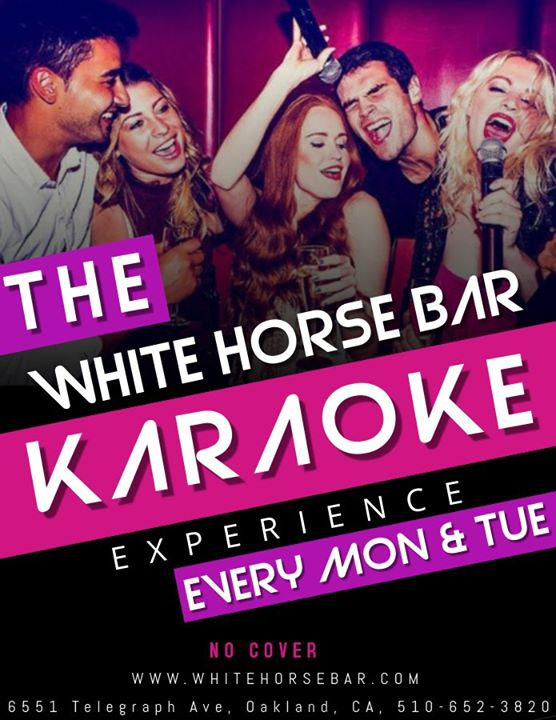 Karaoke Nights en Oakland le lun 25 de noviembre de 2019 19:00-01:00 (After-Work Gay)