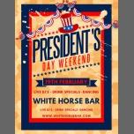 President's Day Weekend à Oakland le lun. 19 février 2018 de 20h00 à 02h00 (Clubbing Gay)