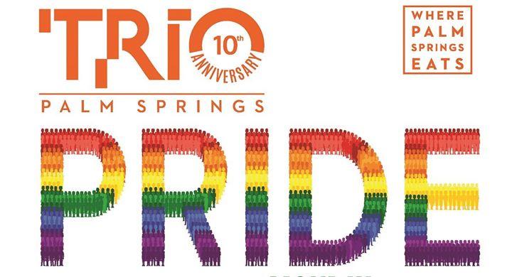 Trio Pride Parade Party en Palm Springs le dom  3 de noviembre de 2019 09:00-12:00 (Festival Gay, Lesbiana, Trans, Bi)