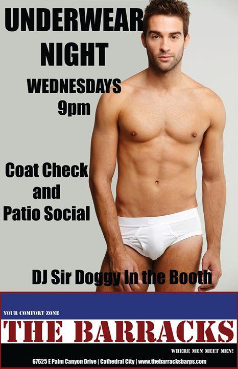 Underwear Night em Cathedral City le qua, 13 novembro 2019 20:00-02:00 (Clubbing Gay)
