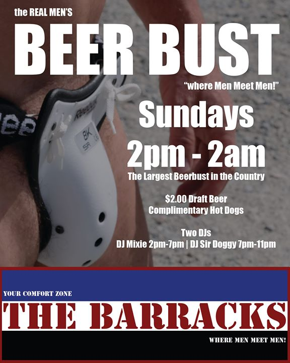 World Famous Beer Bust in Cathedral City le Sun, January  5, 2020 from 02:00 pm to 02:00 am (After-Work Gay)