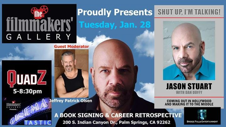 SHUT UP I'M TALKING!:Jason Stuart Career Retrospective Screening em Palm Springs le ter, 28 janeiro 2020 17:00-20:30 (Cinema Gay)
