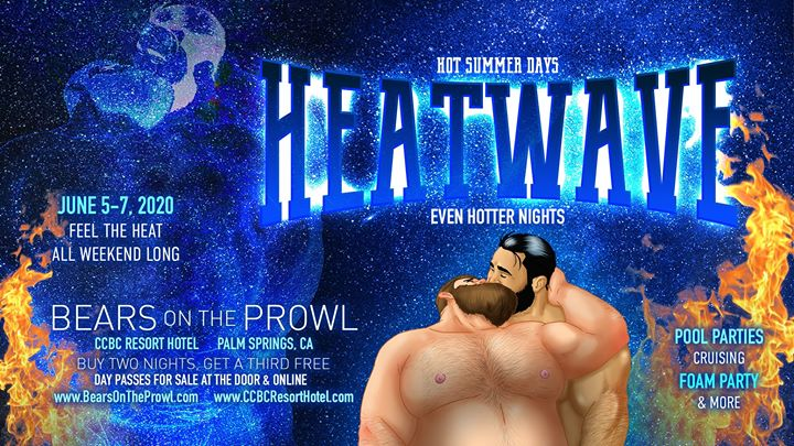 Heatwave #1 - Bears on the Prowl 2020 in Cathedral City von  5 bis  7. Juni 2020 (Festival Gay)