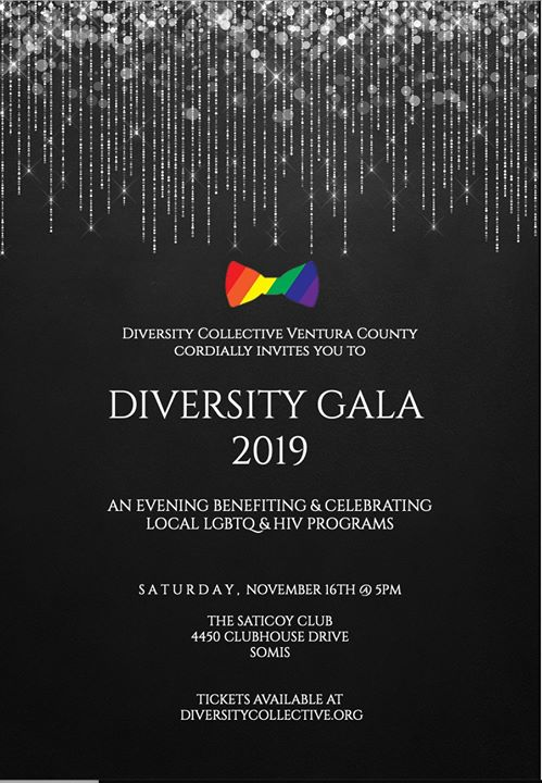 Diversity Gala 2019 in Somis le Sat, November 16, 2019 from 05:00 pm to 10:00 pm (Show Gay, Lesbian, Trans, Bi)