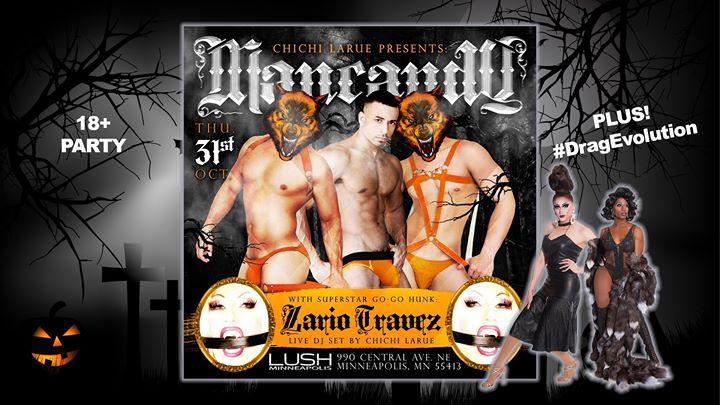 Halloween Mancandy + #DragEvolution en Minneapolis le jue 31 de octubre de 2019 21:00-02:00 (Clubbing Gay)