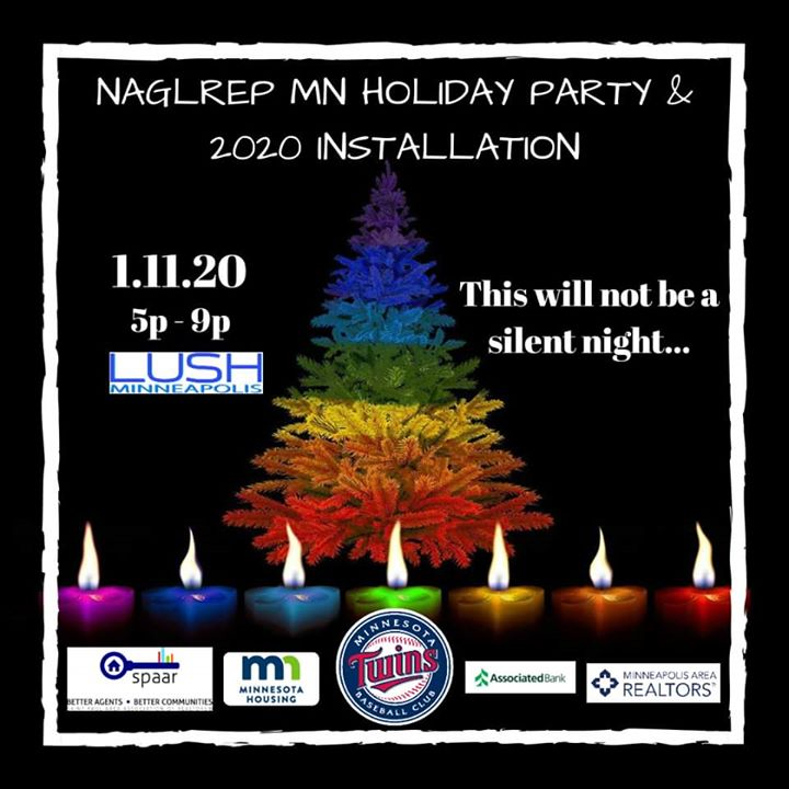 NAGLREP MN State Board Induction and 2020 Preview Soiree em Minneapolis le sáb, 11 janeiro 2020 17:00-21:00 (After-Work Gay)