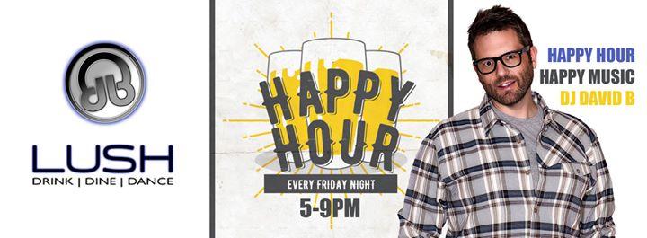 MinneapolisDJ David B | Happy Hour Lush2019年 5月 1日,17:00(男同性恋 下班后的活动)