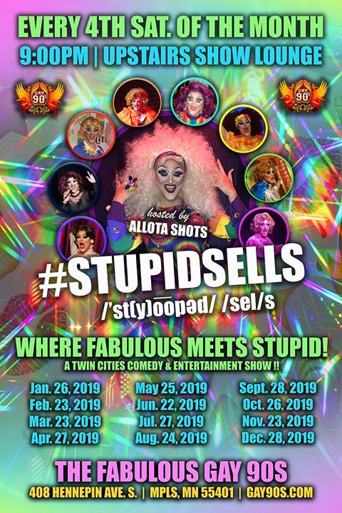 StupidSells in Minneapolis le Sat, December 28, 2019 from 08:00 pm to 03:00 am (Clubbing Gay)
