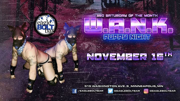 We All Need Kink: Puppies in Minneapolis le Sat, November 16, 2019 from 09:00 pm to 02:00 am (Clubbing Gay)