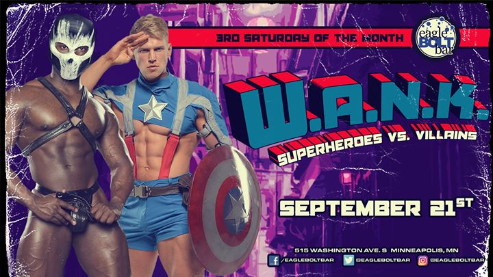 WANK September-Heroes & Villains a Minneapolis le sab 21 settembre 2019 21:00-02:00 (Clubbing Gay)