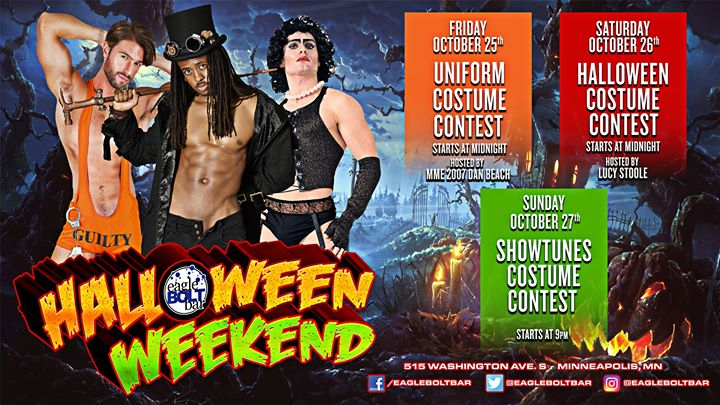 Halloween Weekend en Minneapolis le vie 25 de octubre de 2019 00:00-01:00 (After-Work Gay)