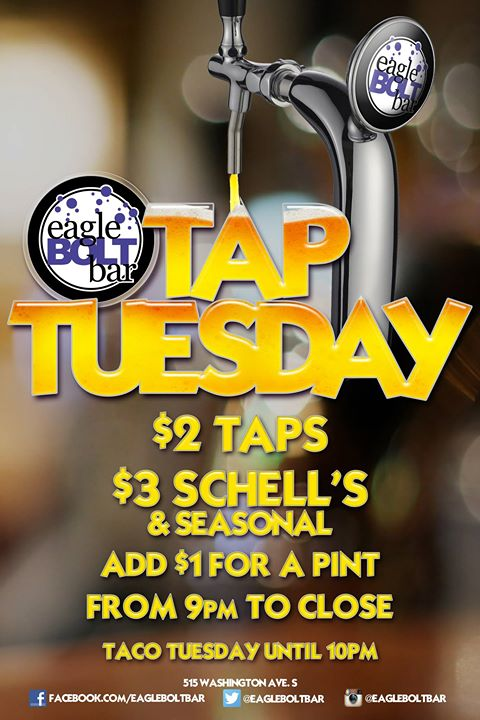 Tuesdays at the eagleBOLTbar in Minneapolis le Tue, August 27, 2019 from 09:00 pm to 02:00 am (Clubbing Gay)