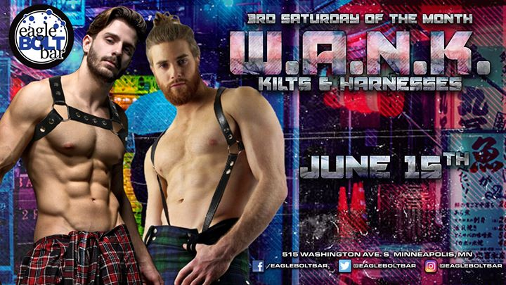 WANK June en Minneapolis le sáb 15 de junio de 2019 21:00-02:00 (After-Work Gay)