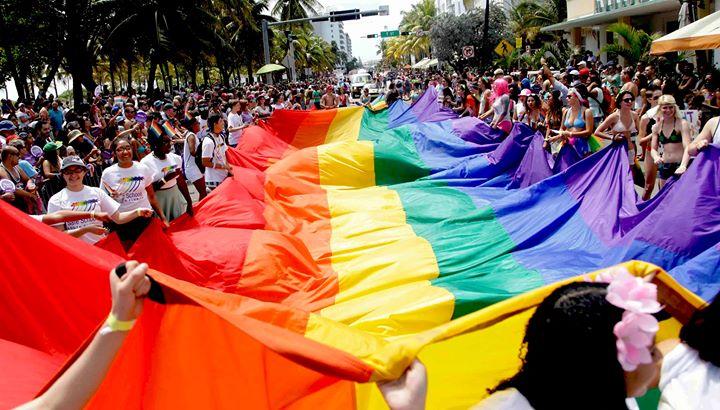 Miami Beach Pride 2020 Parade in Miami le Sun, April  5, 2020 from 12:00 pm to 02:00 pm (Festival Gay, Lesbian)