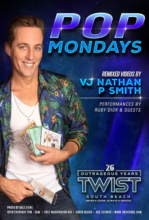 POP Mondays in Miami le Mo 23. März, 2020 23.00 bis 05.00 (Clubbing Gay)