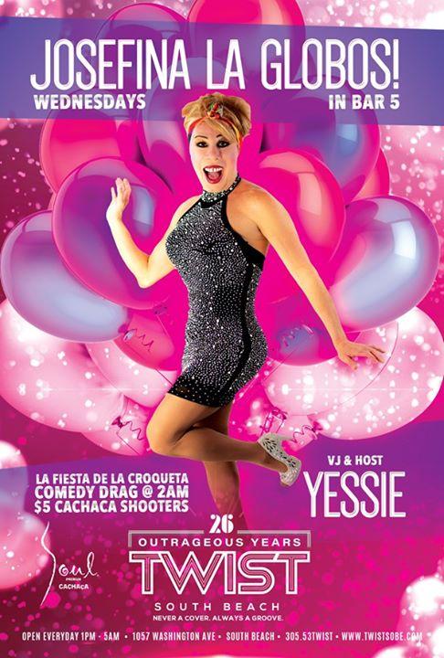La Fiesta De La Croqueta Wednesdays! en Miami le mié  6 de noviembre de 2019 22:00-05:00 (Clubbing Gay)