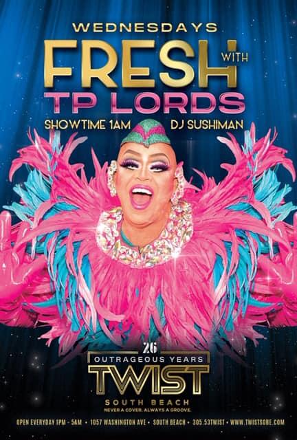 FRESH Wednesdays! à Miami le mer. 18 mars 2020 de 23h00 à 05h00 (Clubbing Gay)