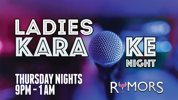 Wilton ManorsRumors Ladies Night - Thursday Nights!2019年 9月19日,21:00(男同性恋 俱乐部/夜总会)