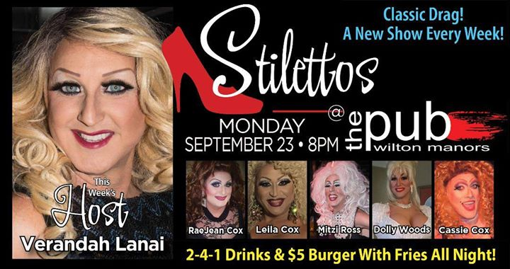 Stilettos em Wilton Manors le seg, 23 setembro 2019 20:00-22:00 (After-Work Gay)