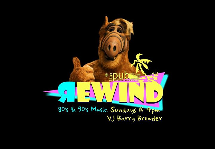 Rewind / The Best Of The 80's & 90's in Wilton Manors le Sun, December 22, 2019 from 04:00 pm to 08:00 pm (After-Work Gay)