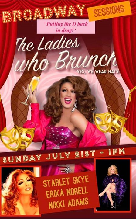 The Ladies Who Brunch in Wilton Manors le Sun, July 21, 2019 from 01:00 pm to 03:00 pm (Brunch Gay, Lesbian)