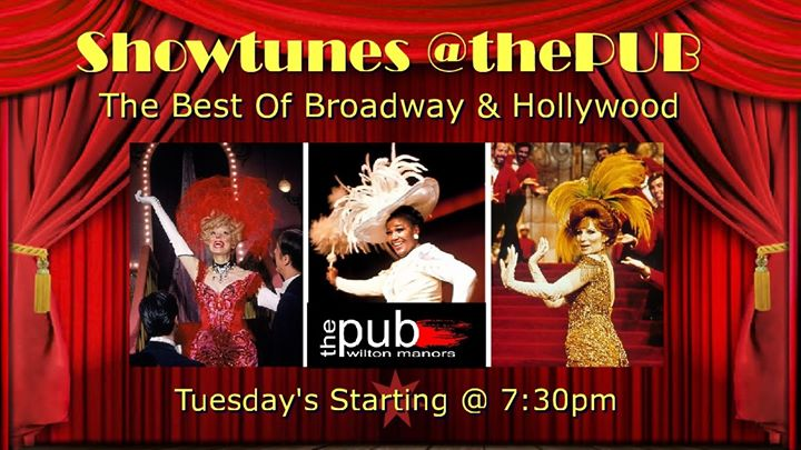 Showtunes @thePUB en Wilton Manors le mar 24 de diciembre de 2019 19:30-23:00 (After-Work Gay)
