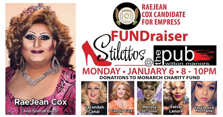 Stilettos - New Show - Classic Drag en Wilton Manors le lun  6 de enero de 2020 20:00-22:00 (After-Work Gay)