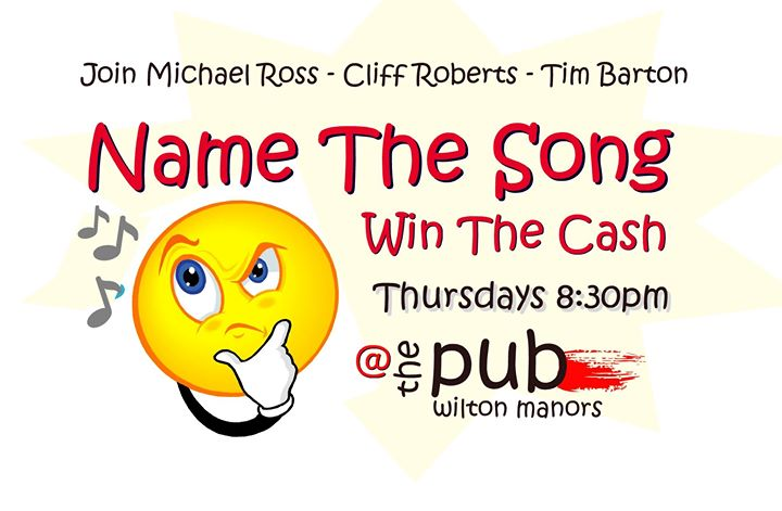 Name The Song / Win The Cash en Wilton Manors le jue  5 de septiembre de 2019 20:30-22:00 (After-Work Gay)