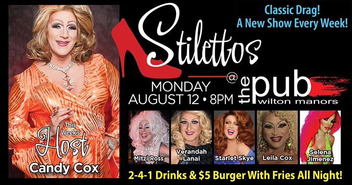 Stilettos em Wilton Manors le seg, 12 agosto 2019 20:00-22:00 (After-Work Gay)