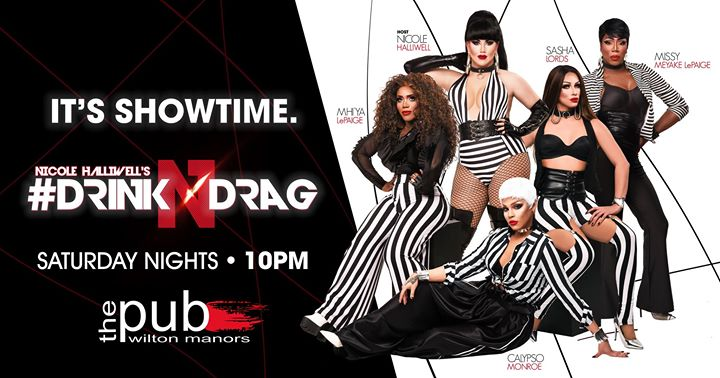 Drink N Drag @thePUB a Wilton Manors le sab 14 dicembre 2019 22:00-23:00 (After-work Gay)