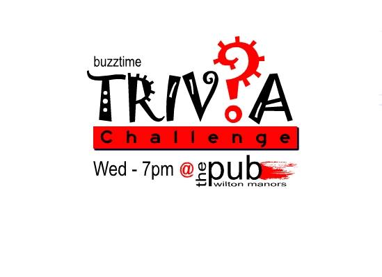 Trivia Challenge en Wilton Manors le mié 21 de agosto de 2019 19:00-21:00 (After-Work Gay)