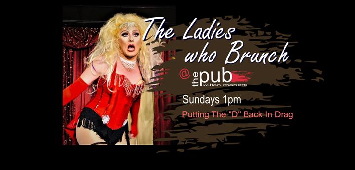The Ladies Who Brunch à Wilton Manors le dim.  8 décembre 2019 de 13h00 à 14h00 (Brunch Gay)