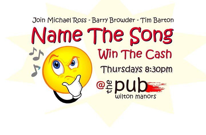 Name The Song / Win The Cash en Wilton Manors le jue 28 de noviembre de 2019 20:30-22:00 (After-Work Gay)