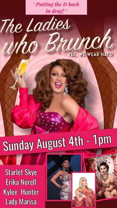 The Ladies Who Brunch in Wilton Manors le Sun, August 11, 2019 from 01:00 pm to 03:00 pm (Brunch Gay, Lesbian)