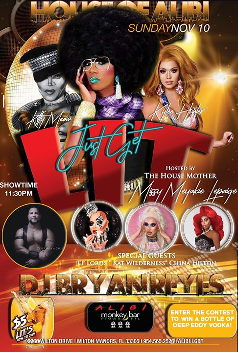 Get LIT Sundays at The Alibi! em Wilton Manors le dom, 17 novembro 2019 23:30-02:00 (Clubbing Gay)