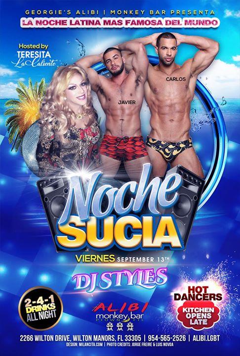 Noche Sucia Fridays à Wilton Manors le ven. 13 septembre 2019 de 21h00 à 03h00 (Clubbing Gay)