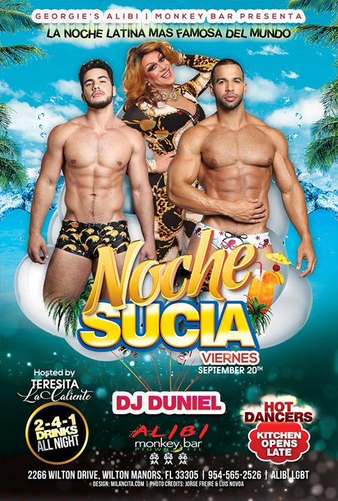 Noche Sucia Fridays in Wilton Manors le Fri, September 27, 2019 from 09:00 pm to 03:00 am (Clubbing Gay)