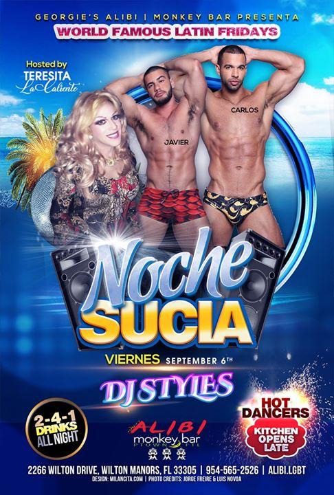 Noche Sucia Fridays à Wilton Manors le ven.  6 septembre 2019 de 21h00 à 03h00 (Clubbing Gay)