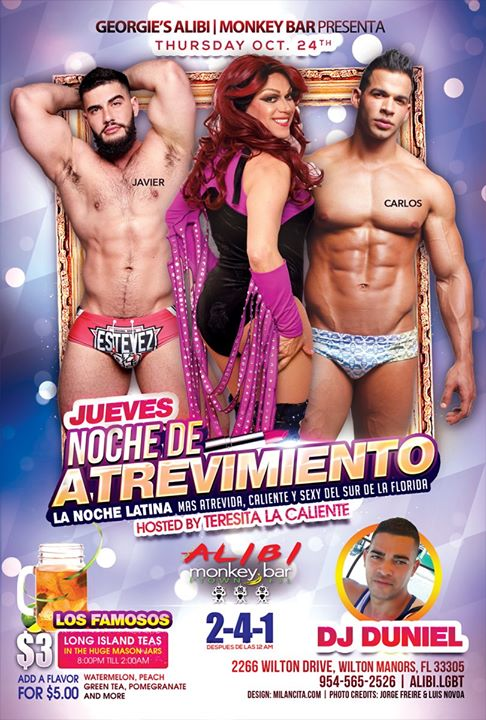 Noche de Atrevimiento in Wilton Manors le Thu, November 14, 2019 from 09:00 pm to 02:00 am (Clubbing Gay)