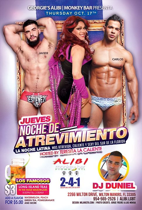 Noche de Atrevimiento in Wilton Manors le Thu, October 24, 2019 from 09:00 pm to 02:00 am (Clubbing Gay)