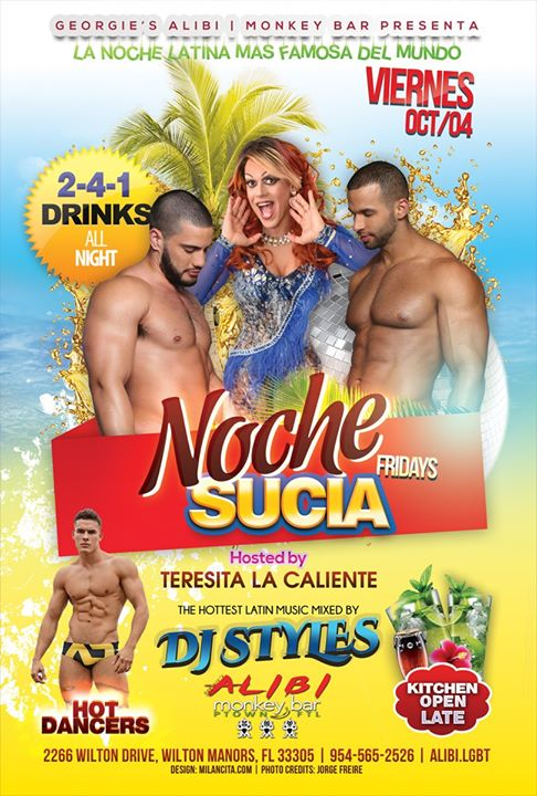 Noche Sucia Fridays in Wilton Manors le Fri, October  4, 2019 from 09:00 pm to 03:00 am (Clubbing Gay)