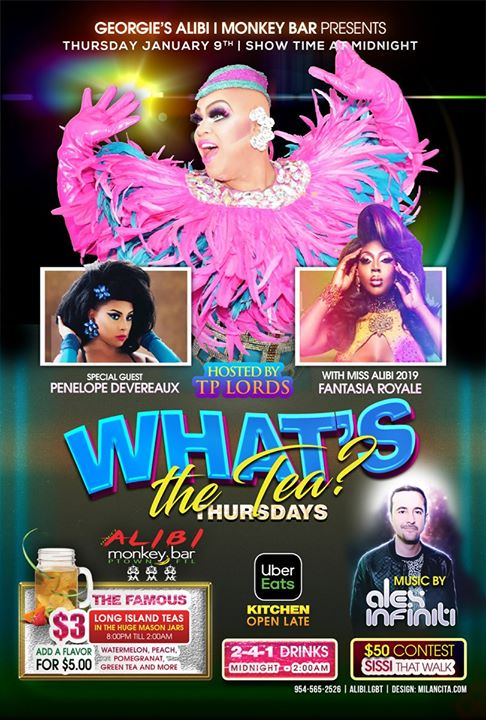 What's the Tea?! Thursdays in Wilton Manors le Thu, January 16, 2020 from 11:00 pm to 02:00 am (Clubbing Gay)