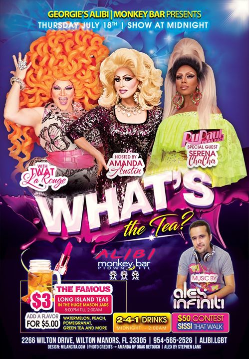 What's the Tea?! Thursdays in Wilton Manors le Do 18. Juli, 2019 23.00 bis 02.00 (Clubbing Gay)