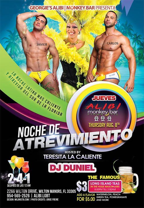Noche de Atrevimiento in Wilton Manors le Do  8. August, 2019 21.00 bis 02.00 (Clubbing Gay)